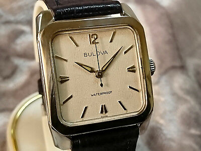 Bulova 1960 'ENSIGN' vintage manual wind watch 11AFC silver tone dial Special