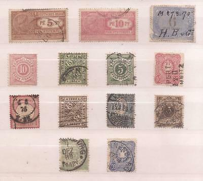 Germany   -  Lot Of Very Old Stamps