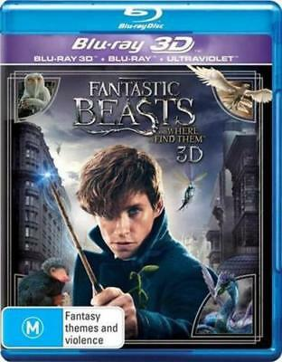 Fantastic Beasts and Where to Find Them [3D + 2D Blu-ray] Region B - NEW