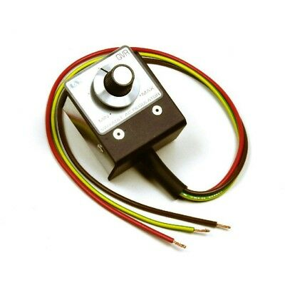 Dimmer Switch Qvr/s Variable Ac V Regulator For Heat Lamp Displays New