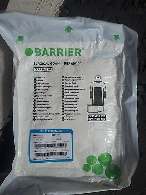 1 Barrier surgical gown 660105 XL 3 sealed packs