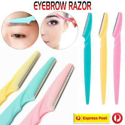 Eyebrow Razor Facial Hair Remover Eyebrow Trimmer Sharp Mini Makeup Knife AU