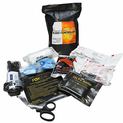 Steroplast Emergency Response Premium Bleed Control First Aid Trauma Kit