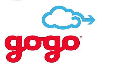 10-pack of Gogo air inflight wifi passes Valid 1 year US/Canada (No Hawaii)