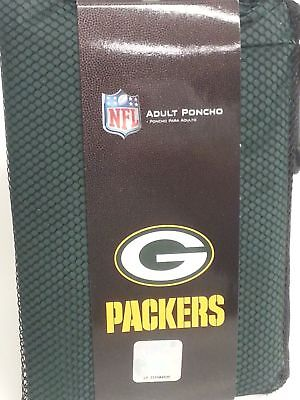 513a9888 NFL GREEN BAY Packers Rain Poncho, NEW