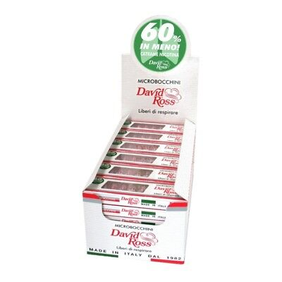 Microbocchini David Ross 8 mm per Sigaretta box da 36 astucci 1 Box