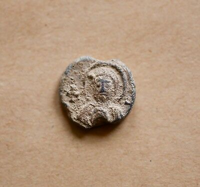 BYZANTINE LEAD SEAL/ BLEISIEGEL OF NARSES  (7th cent.). Nice piece!