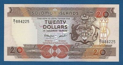 ISLAS SALOMON // SOLOMON ISLANDS -- 20 DOLLARS ND ( 1986 ) -- UNC -- PICK 16a .