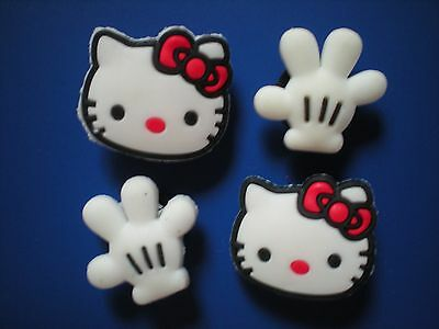 s Clog Shoe Charm Plugs Hello Kitty Fit Kid Wristband Accessories