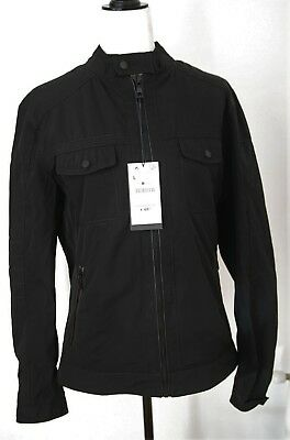 7fd95094 Zara man mens biker jacket bomper colour black size S M L XL new with tags