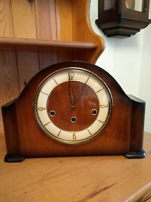 Hermle Arched Mantel Clock 8 Day Movement