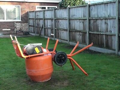 Belle Minimix 150 110v Electric Cement Mixer Barely used!