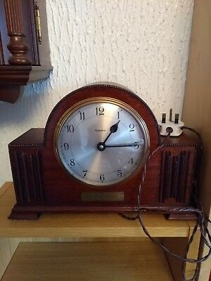 Genalex Electric Art Deco Mantel Clock