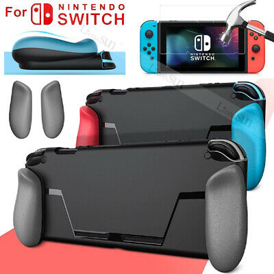 Protection for Nintendo Switch NS Console Soft TPU Case Guard Cover Shell Black