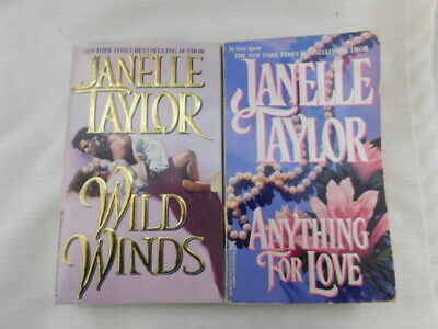 Janelle Taylor Book Lot Paperback   Romance, Love, Sexy