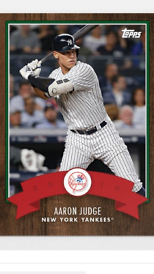 2018 Topps Holiday Advent Calendar Card Aaron Judge #15 New York Yankees