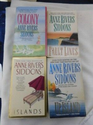 Anne River Siddons Book Lot Paperback   Romance, Love, Sexy