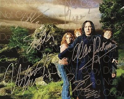 Harry Potter 6 signed Radcliffe Watson 8X10 photo picture poster autograph RP