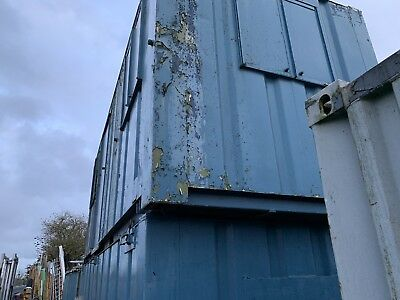 20ft X 8ft Site Cabin Site Office Secure Store Anti-Vandal Canteen No Vat