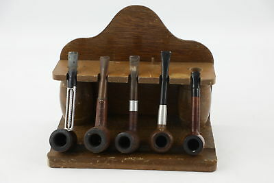 6 X VINTAGE ESTATE Smoking Pipes & PIPE STAND Inc  Byford By Orlik & Falcon