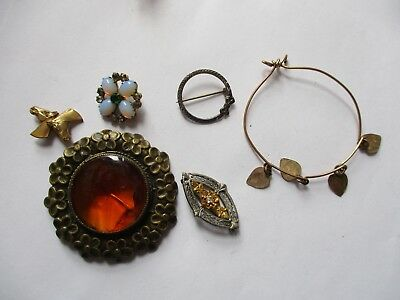 Lot of Vintage Antique Jewelry