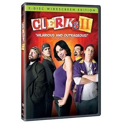 Clerks II (Two-Disc Widescreen Edition), Excellent DVD, Jennifer Schwalbach Smit