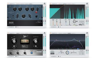 Apogee FX Rack - 4 Plugins Bundle (VST/AU/AAX) iLok License