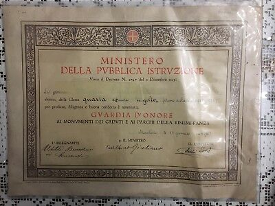 Nomina Guardia D'onore 1926
