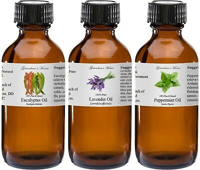4 fl oz Essential Oil in Amber Glass - Pure and Natural - Therapeutic Grade Oil!