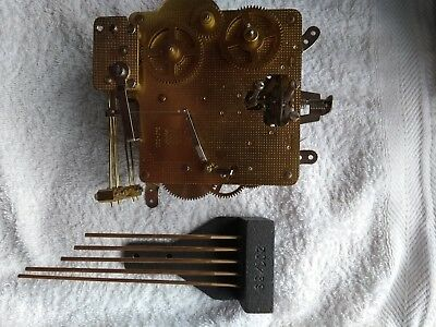 New Hermle Floating Clock Movement With 5 Striking Bar Part