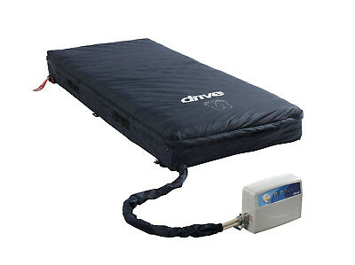 Drive Medical Med Aire Low Air Loss Mattress Replacement System with Alarm,14029