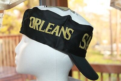 New Orleans Saints Hat NFL Painters Cap Vintage Rare New Old Stock From the  80s 94a950178