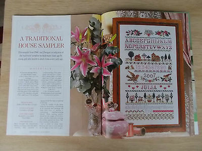 Embroidery & Cross Stitch Vol 14 #5~Baby Trio~Cushion~Blanket~House Sampler