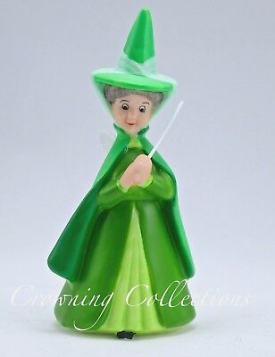 Disney Fauna Green Fairy Figurine Porcelain China Good Godmother Sleeping Beauty