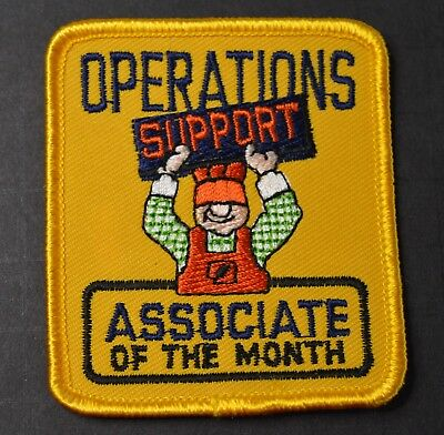 Home Depot Operations Support Associate of the Month Patch