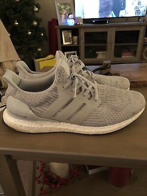 MENS ADIDAS ULTRA Boost Size 13 Clear Grey Used Preowned -  125.00 ... 2f112b78e