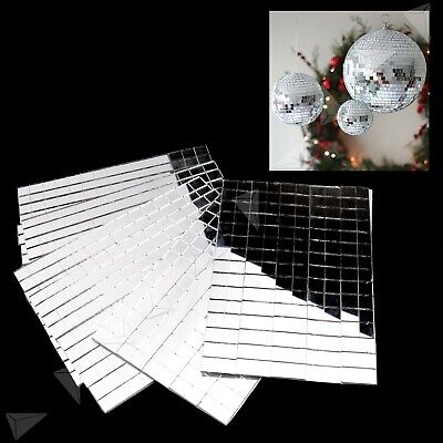 5 Sheets Rear Glass Mirror Mosaic Border Tiles 10Mm Thick