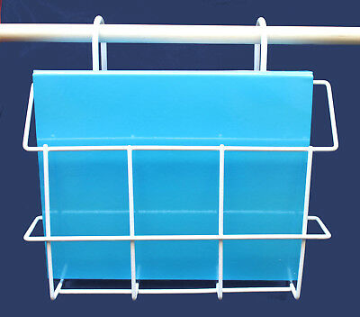 WIRE STORAGE HOLDER, Patient Charts, Magazines, Books, Letters - Saves Space