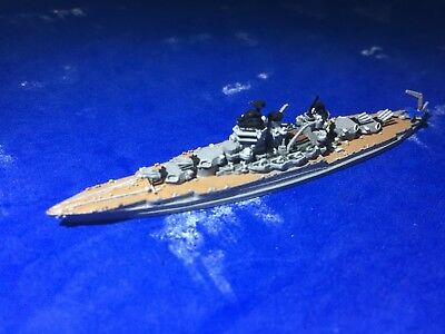 1/2400 scale of GHQ 's model of the USS Mississippi BB