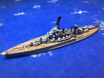 1/2400 scale of GHQ's model of the USS Colorado BB