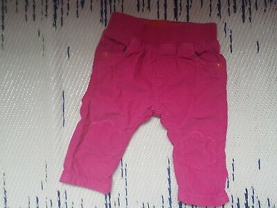 Marks and Spencer Baby Girls Pink Cord Trousers 3-6 Months
