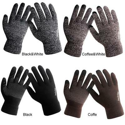 Thermal Insulation Touch Screen Winter Warm Mens Women Gloves For Smartphone
