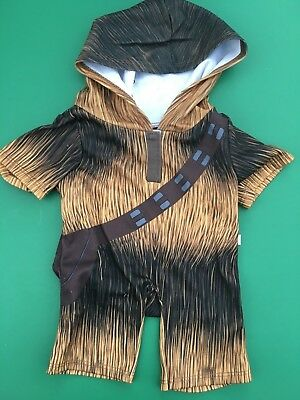 Build a Bear Full Size Teddy Clothing - New Star Wars Chewbacca Sleeper
