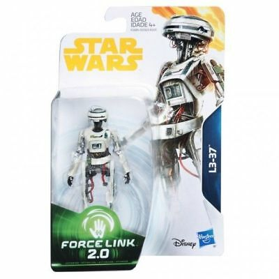 Star Wars Force Link 2.0 L3-37 Droid 3 3/4 Inch Action Figure MIB