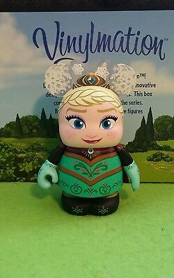 "DISNEY Vinylmation 3"" Park Set 2 Frozen Eachez Queen Elsa Non Variant"