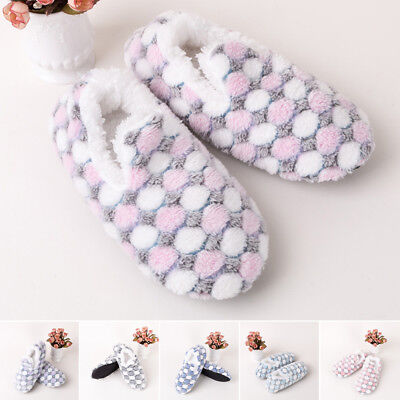 1 Pair Women Soft Bottom Slipper Flip Flops Warm Home Indoor Socks Shoes Boots