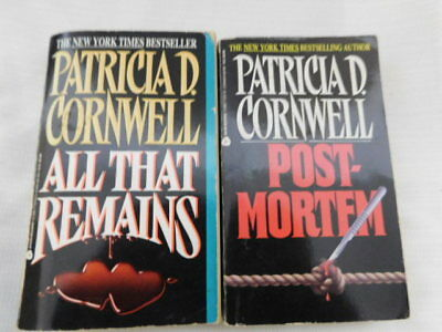 Patricia D Cornwell Book Lots Mystery Suspence
