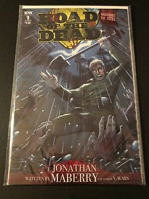 Road Of The Dead Highway To Hell #1 Sold Out Idw Nm Sealed Never Read