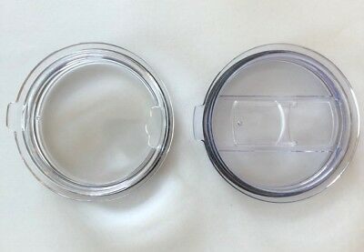 Lid, For 30 Oz.Tumblers, 2PC, Slider Closure Cover and Standard