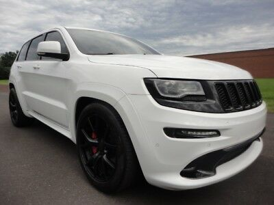 2016 Jeep Grand Cherokee SRT 2016 JEEP GRAND CHEROKEE SRT PROCHARGED HOT.COOL SEAT FAST 1 OWNER CLEAN CARFAX